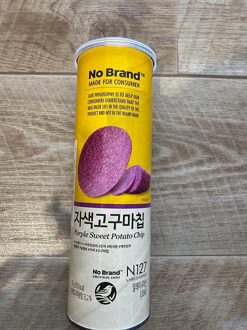 No Brand Purpple Sweet Potato Chip