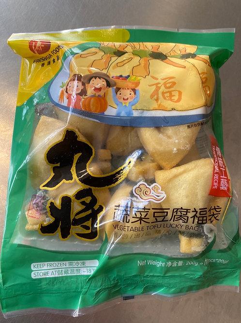 Freshaisa Vegetable Tofu Lucky Bags 蔬菜福袋 200g