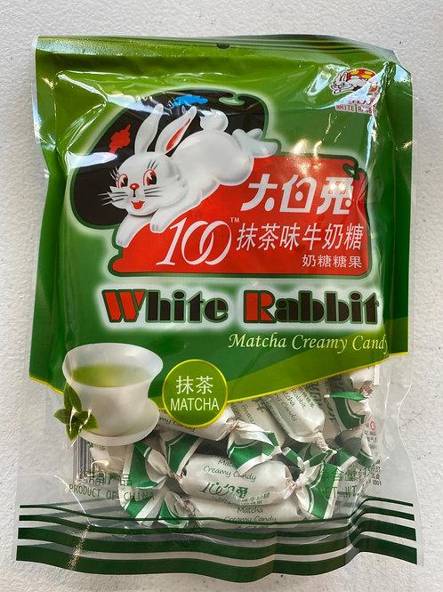 White Rabbit Matcha Creamy Candy 大白兔抹茶味牛奶糖150g