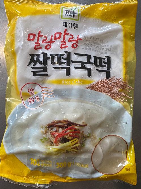 Daerim Frozen Sliced Rice Cake 500g 韩国年糕片