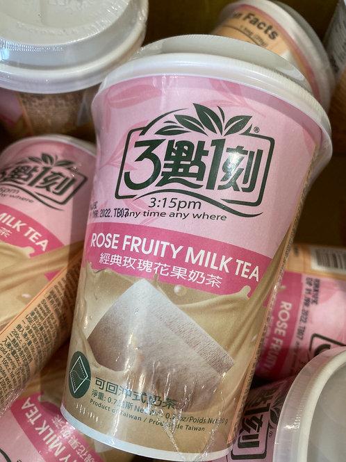 3:15pm Rose Fruity Milk Tea