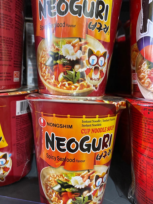 Nongshim Neoguri Cup Noodle Spicy Seafood
