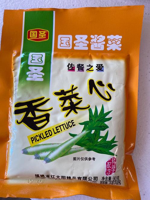 Pickled Lettuce 菜心 90g