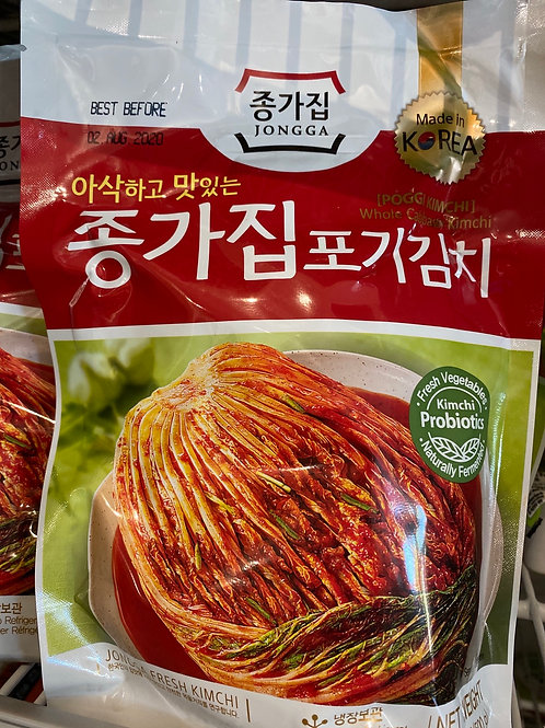 Jongga Poggi Kimchi 500g (BBD 12 Sept 20)