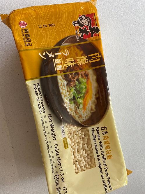 WM Ramen With Pork Flavor五木肉燥拉面