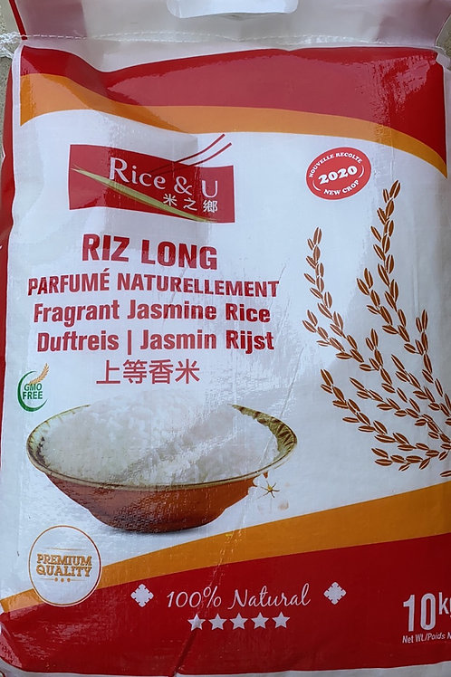 R&U Jasmine Rice 10kg