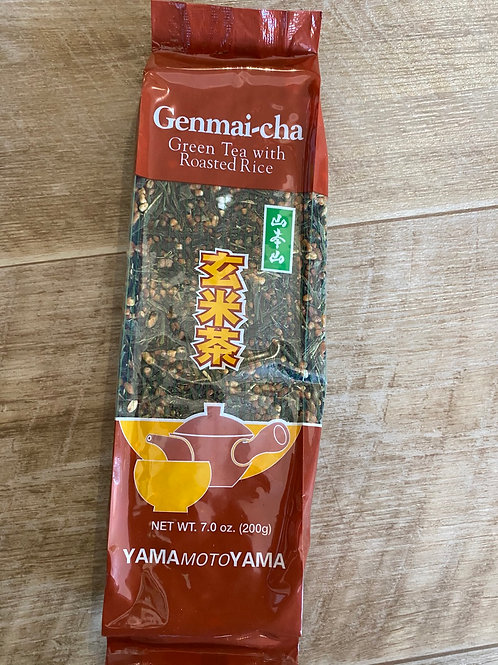 Ginmai Tea (Green Tea With Brown Rice)