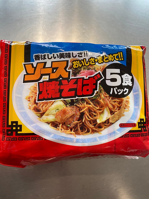 Sapporo Yakisoba 札幌五连包即食炒面 410g