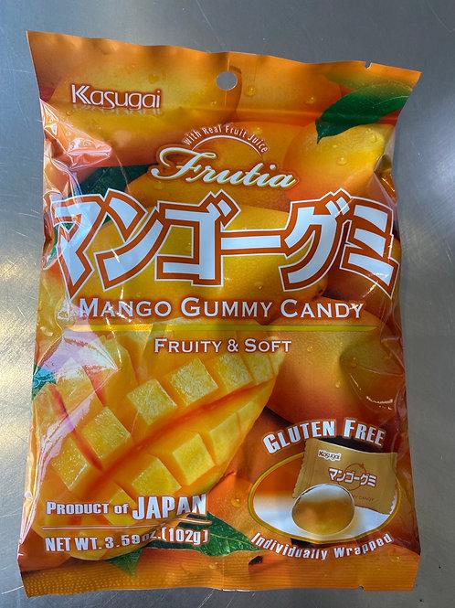 Kasugai Mango Gummy Candy 春日井製菓糖芒果味