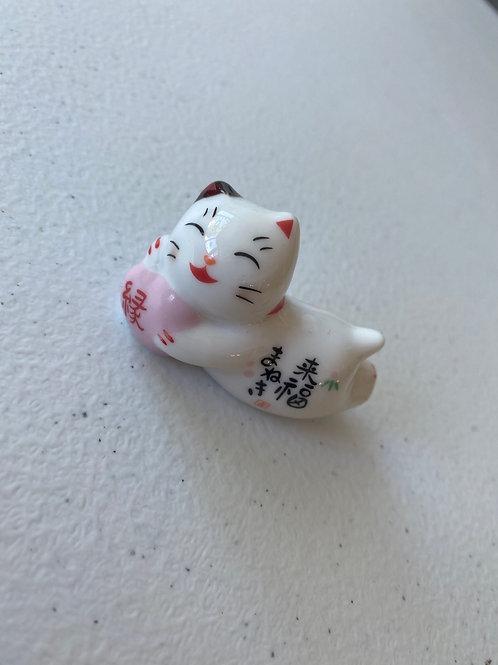 Lucky Cat Chopstick / Pen Holder