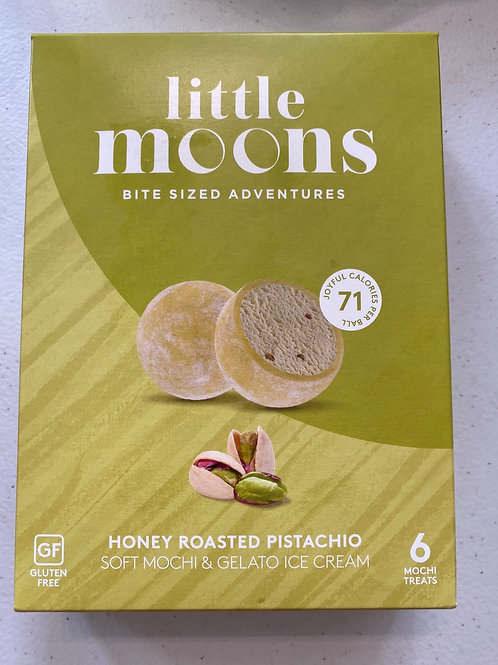 Little Moons Honey Roasted Pistachio Mochi Icecream