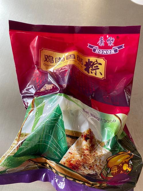 HR Zongzi Glutinous Rice with Chicken Mushroom雞肉香菇粽子 2pcsx150g