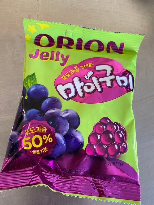Korean Jelly Grape Sweet