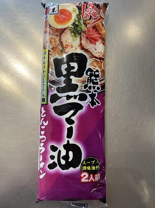 Japanese Itsuki Foods Pork Bone & Black Garlic Sesame Oil Ramen 日本五木黑蒜油拉面