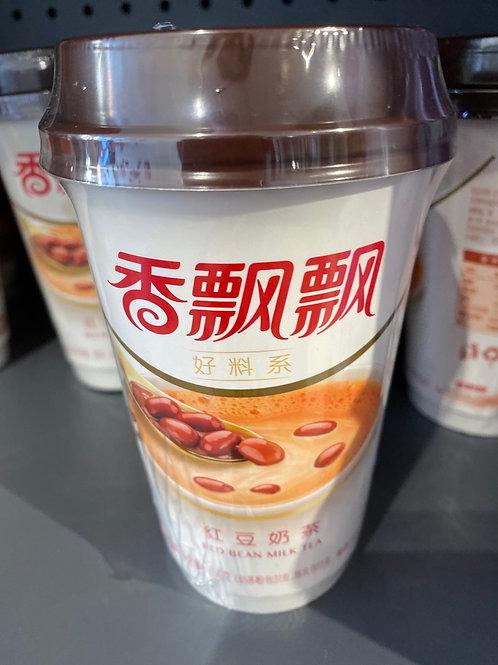 Red Bean Milk Tea