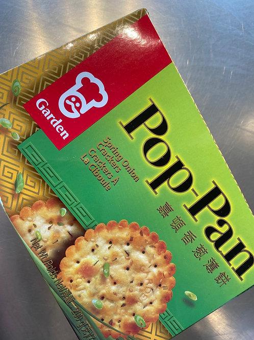 Garden Pop Pan Spring Onion 嘉顿香葱薄饼