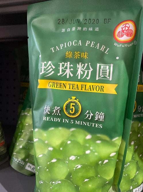 Tapioca Pearl Green Tea Flav