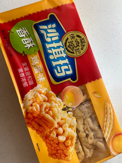 HSU Egg Sachima 徐福記雞蛋沙其馬