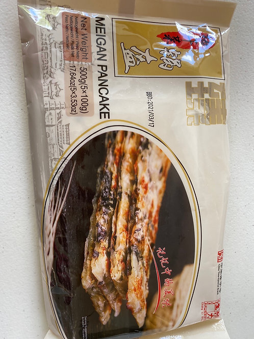 Meigan Pancake 梅干菜锅盔