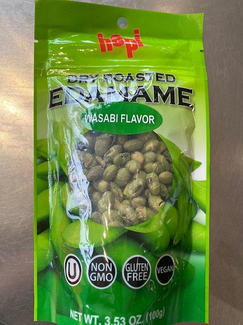 Hapi Dry Roasted Edamame Wasabi Flavor 100g
