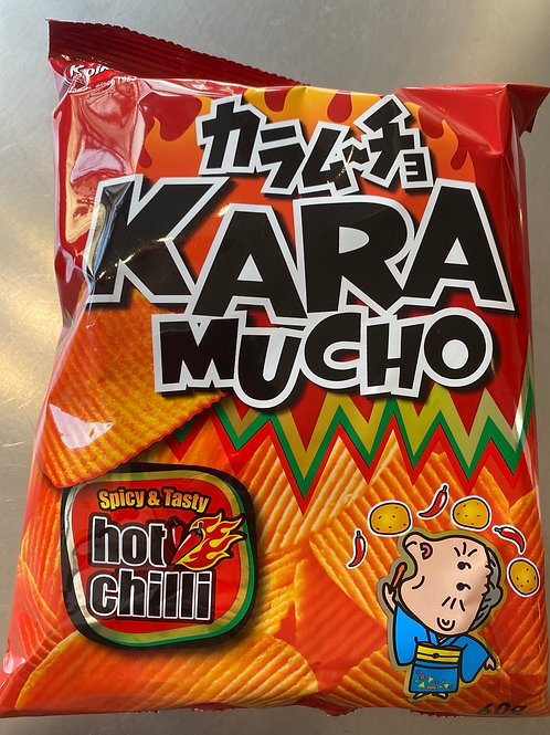 Koikeyo Kara Mucho Hot Chilli Chips (Japan No1 Spicy Potato Chips)日本香辣薯片