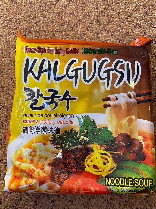 Kalgugsu Instant Noodles Chicken Onion Flavour