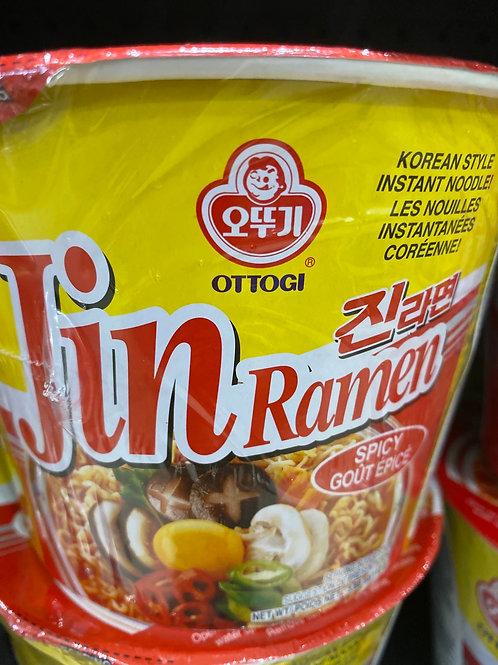 Ottogi Jin Ramen Spicy 110g