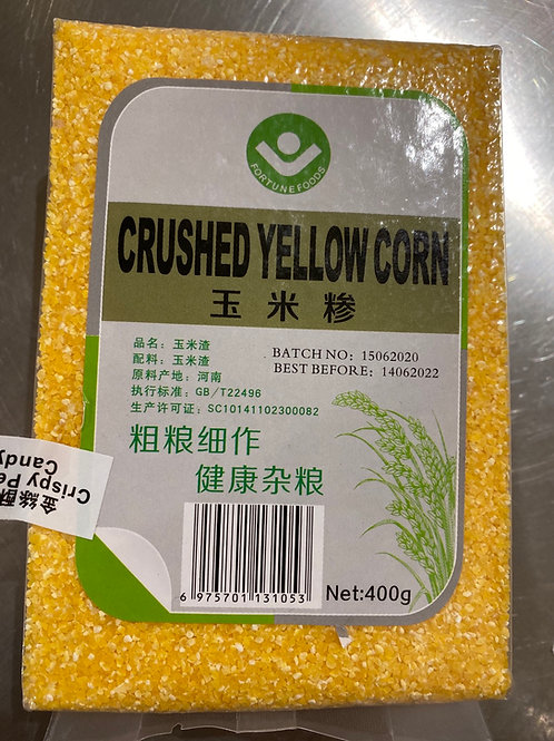 Crushed Yellow Corn 玉米糁400g