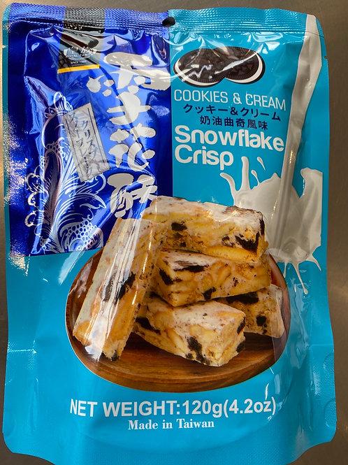 RF Cookies & Cream Snowflack Crisp皇族奶油曲奇雪花酥