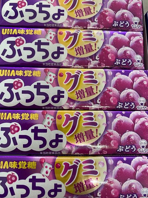 UHA Japanese Sweet Grape Flav 1Pcs