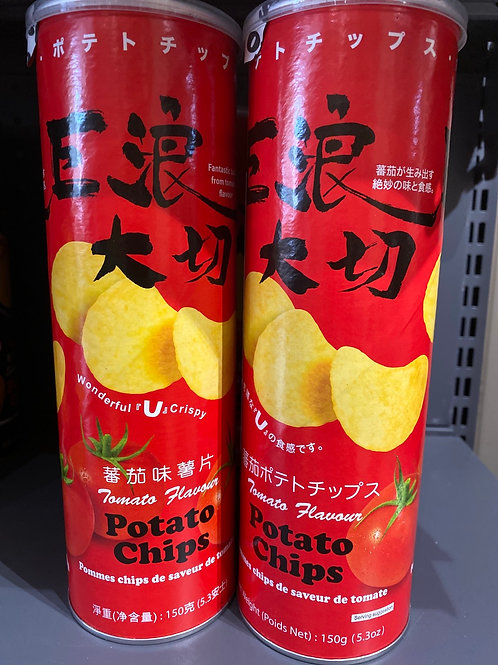 EDO Potato Chips Tomato Flav 番茄味薯片