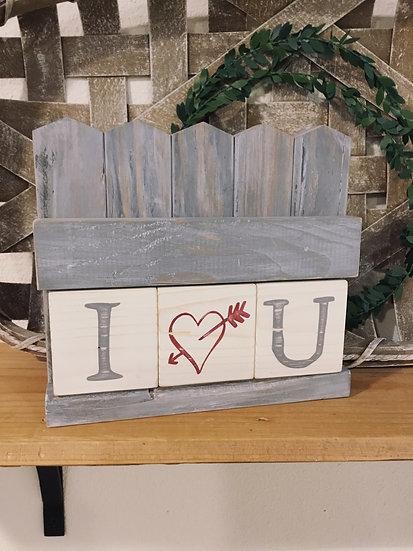 Mini Picket Fence Tile Ledge