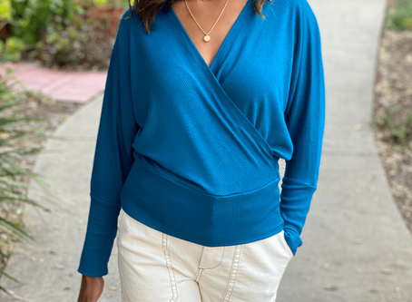 Style Solutions: How to Wear the Annie Wrap Knit Top