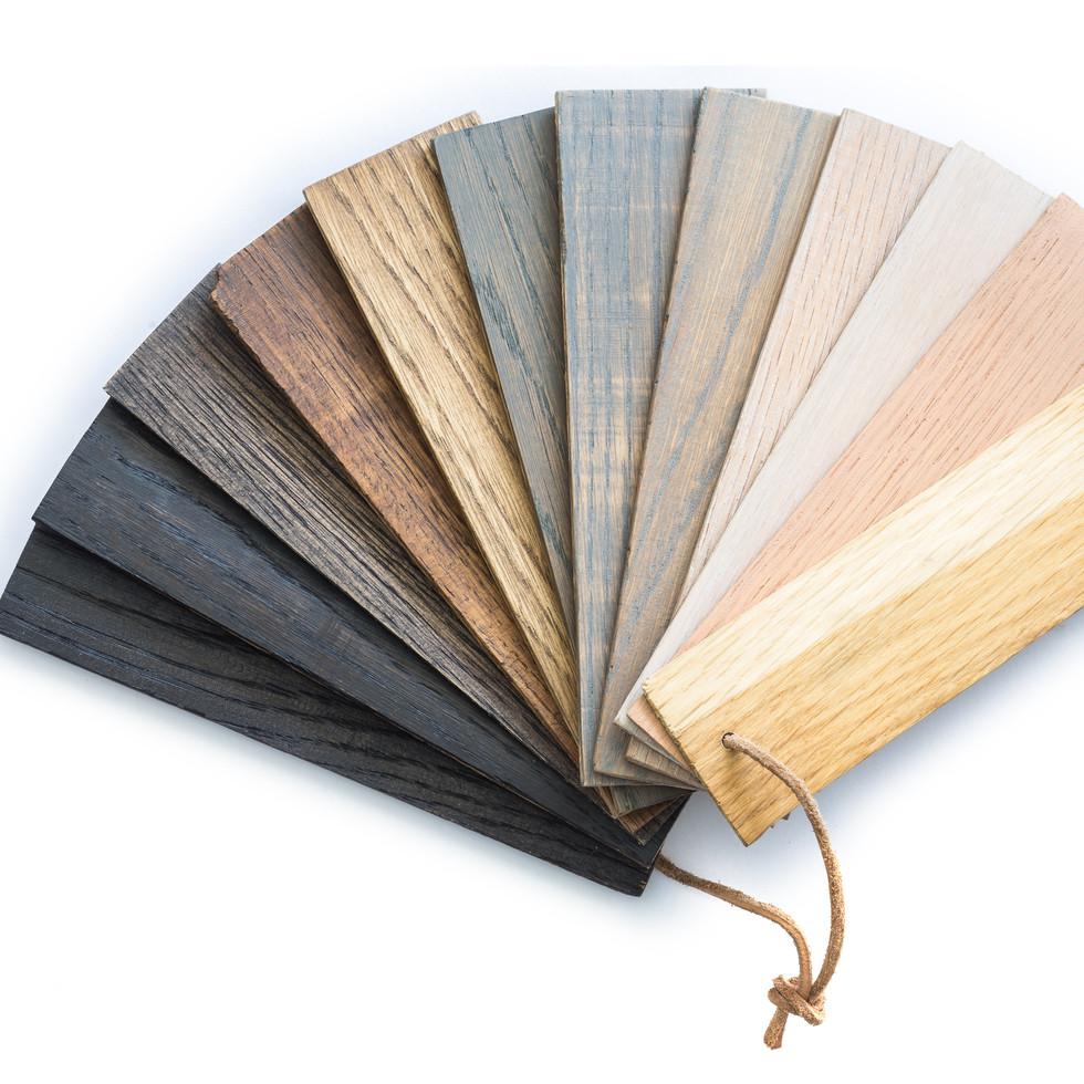 Holz Öl Farbbeispiele