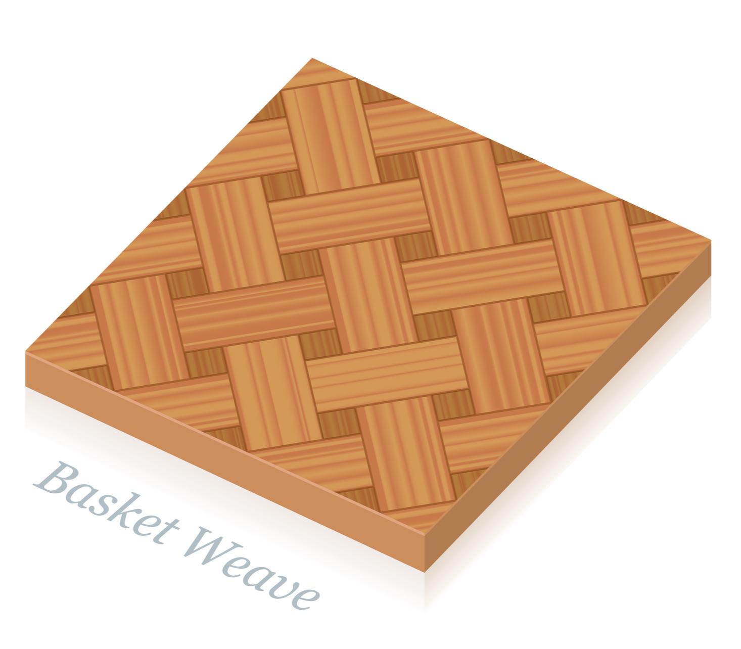 Basket Weave Parkettmuster