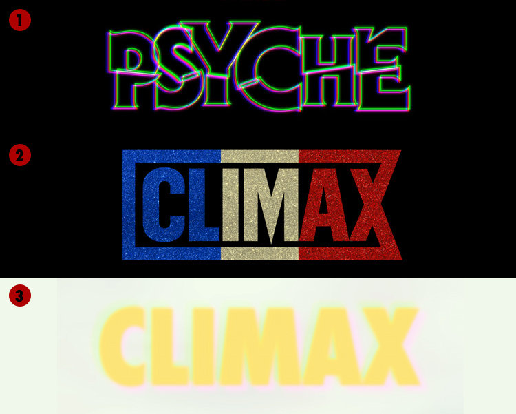 Psyché / Logo de Climax