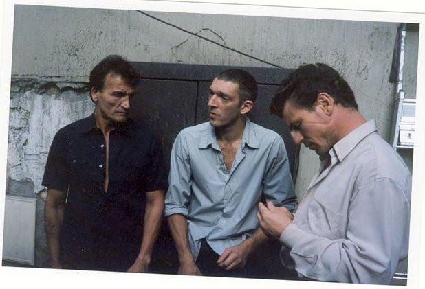 Mick Gondouin, Vincent Cassel et Jo Prestia
