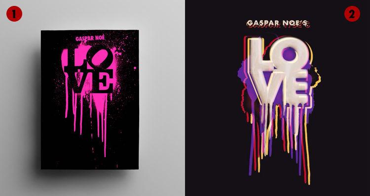 Logo de Love (Gaspar Noé) par Tom Kan