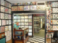 Interior of Willie's Tropical Tattoo