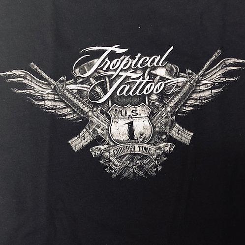L - Tropical Tattoo T-Shirt