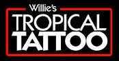 Willie's Tropical Tattoo neon
