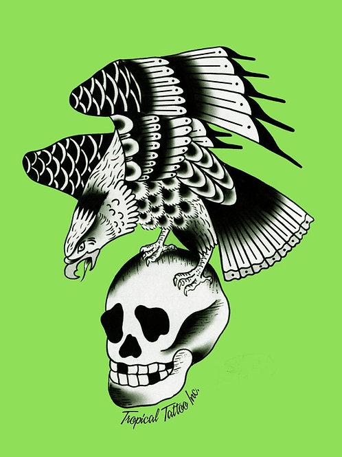 L - Eagle Skull Tank or Rocker