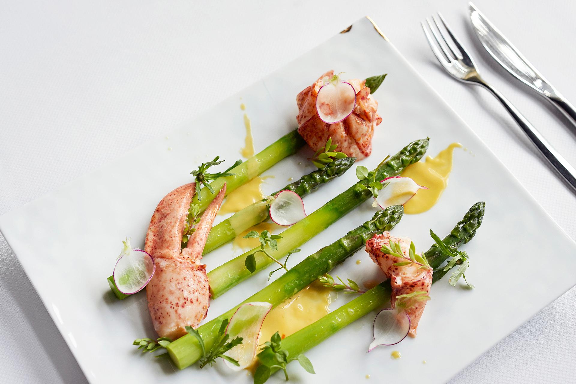 Asperges et homard_Asparagus and lobster