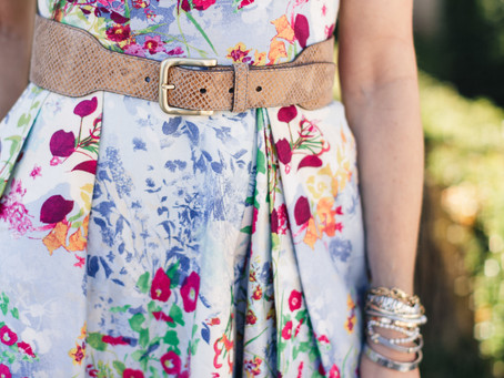 Florals: My Fashion Favorite this Spring