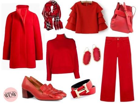 WAYS TO WEAR RED