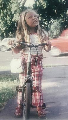 Susana Perczek at 4 years old