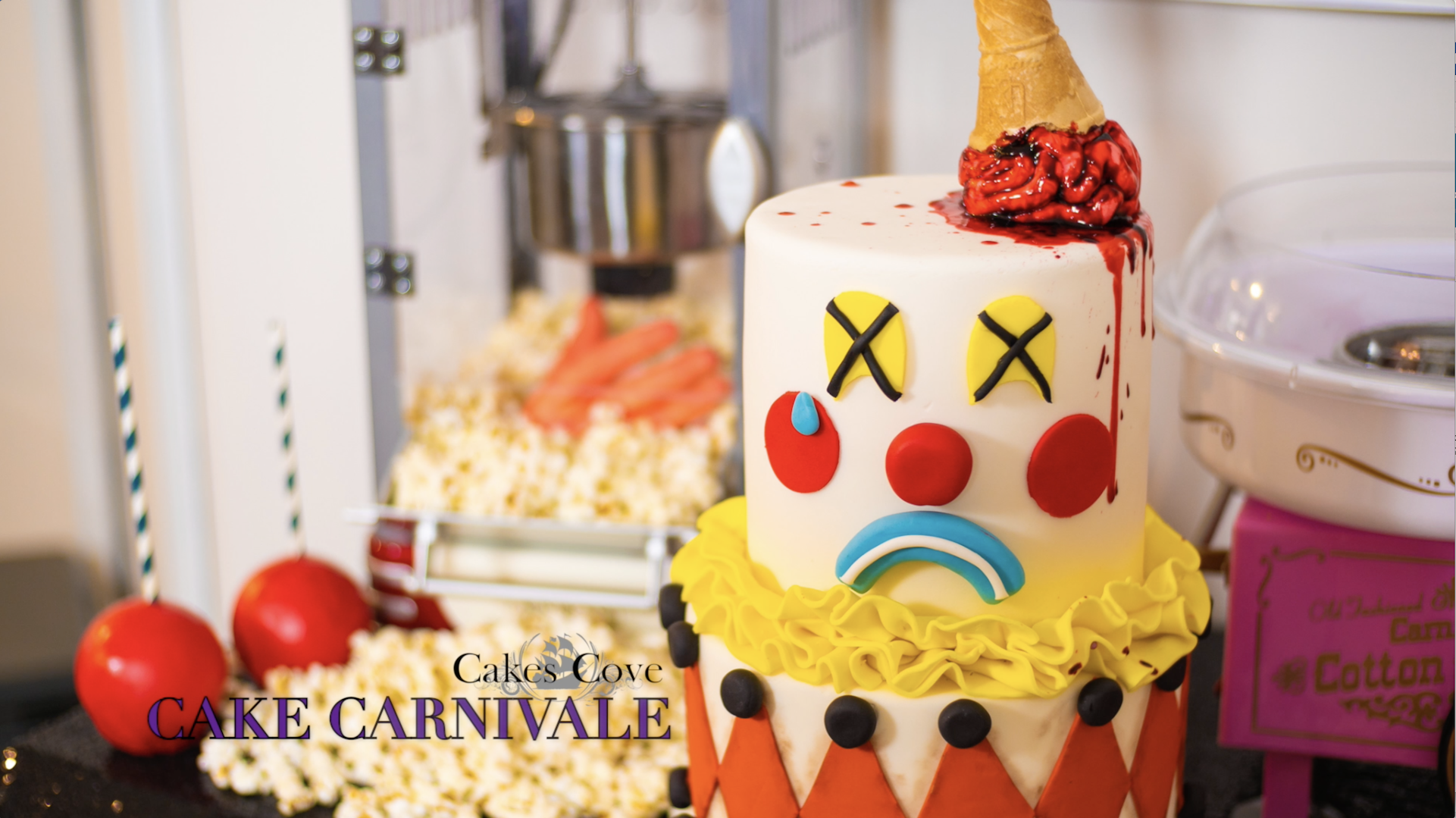 """cakes cove 🍰's tweet - """"*sings* this is halloween! win tickets to"""