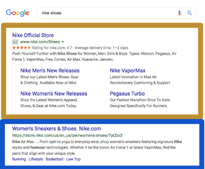 Paid vs Organic Google Search
