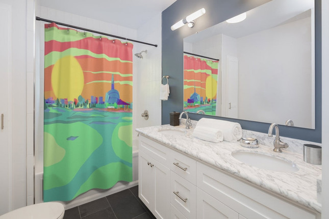 Winnipeg Shower Curtain
