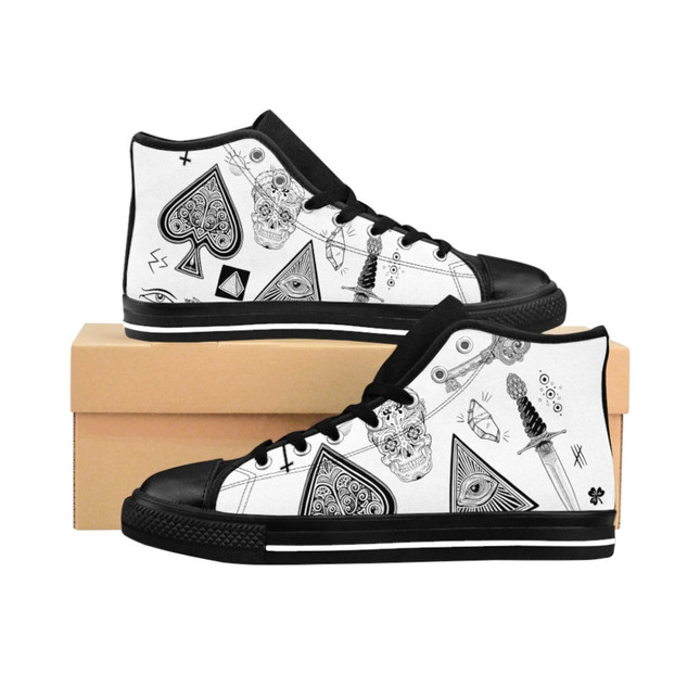Flash High-top Sneakers